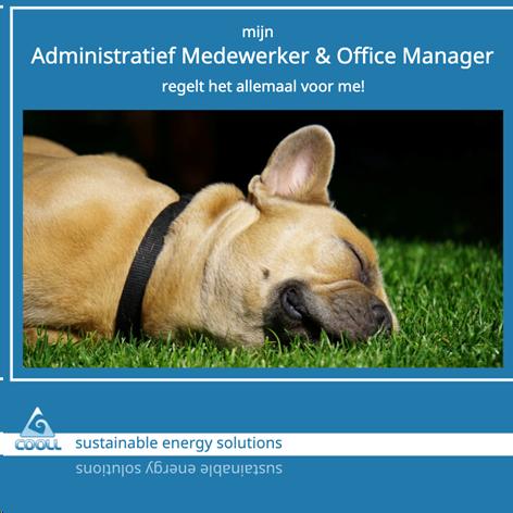 Administratief medewerker / Office manager – GESLOTEN